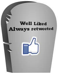 Social media death