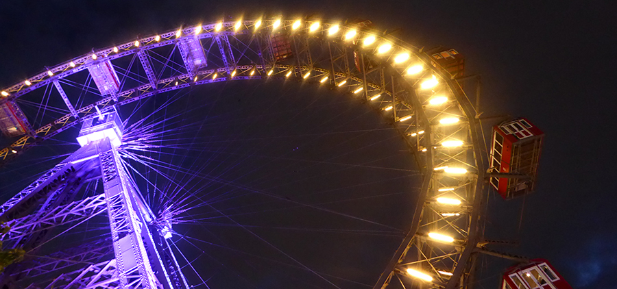Vienna ferris wheel. Photo Sean Smith