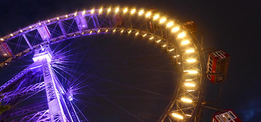 Vienna ferris wheel. Photo Sean Smith